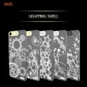 Светящаяся  накладка для iPhone 5/5S -  Van.D Lighting SHELL