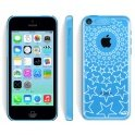 Светящийся кейс Van.D Clear Lightun Case Stars для Apple iPhone 5С