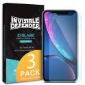 Защитное стекло для iPhone XS - Invisible Defender IDGLASS 0.33mm (3 шт.)